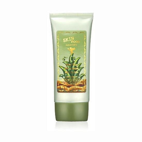 Kem BB Chiết Xuất Lô Hội Skinfood Aloe Sun BB Cream SPF20/PA+ 50g – Tông Sáng