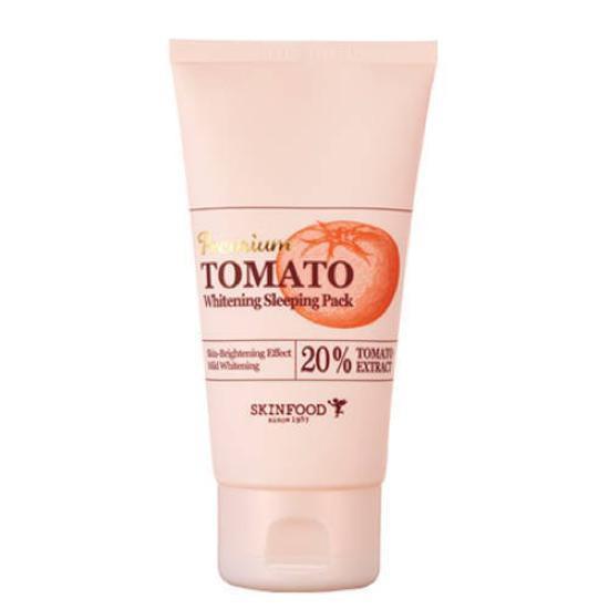 Mặt Nạ Ngủ Làm Trắng Da SkinFood Premium Tomato Whitening Sleeping Pack 100ml
