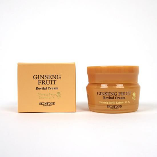 Kem Dưỡng Chiết Xuất Nhân Sâm Giúp Da Săn Chắc Skinfood Ginseng Fruit Revital Cream 50ml