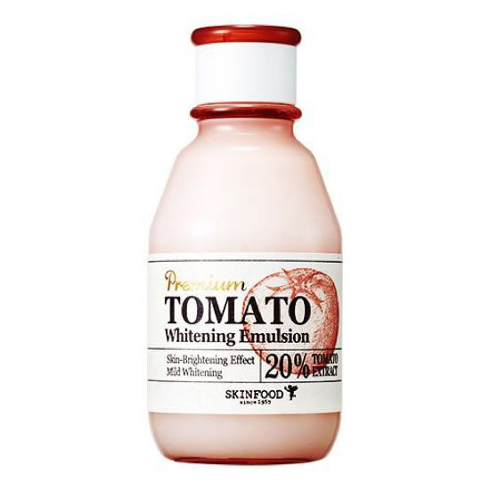 Sữa Dưỡng Da Sáng Mịn Màng Chiết Xuất Cà Chua SkinFood Premium Tomato Emulsion 140ml