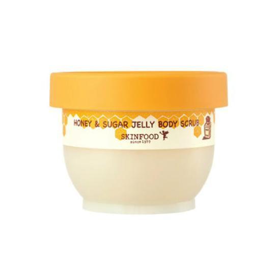 Tẩy Da Chết Toàn Thân Mật Ong Và Đường Skinfood Honey & Sugar Jelly Body Scrub 200g