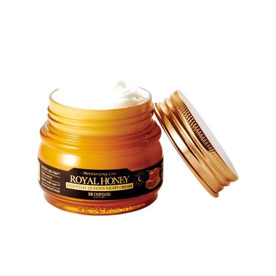 Kem Dưỡng Ẩm Làm Mịn Da Chiết Xuất Mật Ong Skinfood Royal Honey Essential Queen Night Cream (63 ml)
