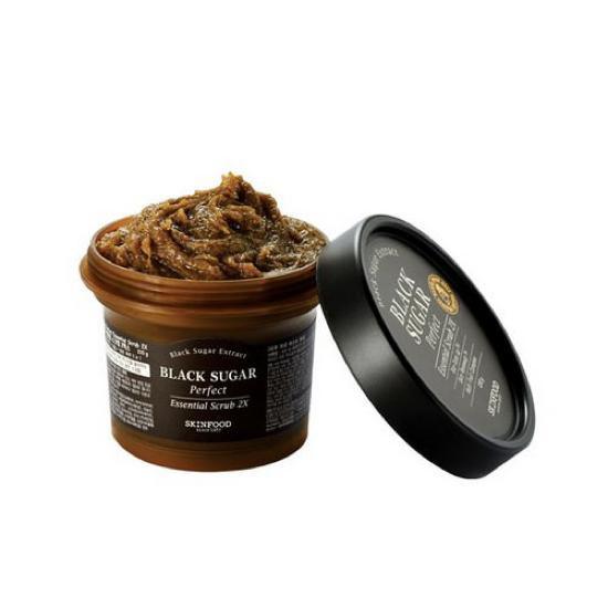 Tẩy Tế Bào Chết Chiết Xuất Đường Đen Skinfood Black Sugar Perfect Essential Scrub 2X 210gram