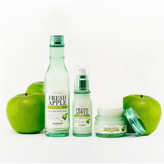 Bộ Dưỡng Da Se Khít Lỗ Chân Lông Chiết Xuất Táo Skinfood Fresh Apple Sparkling Pore Set