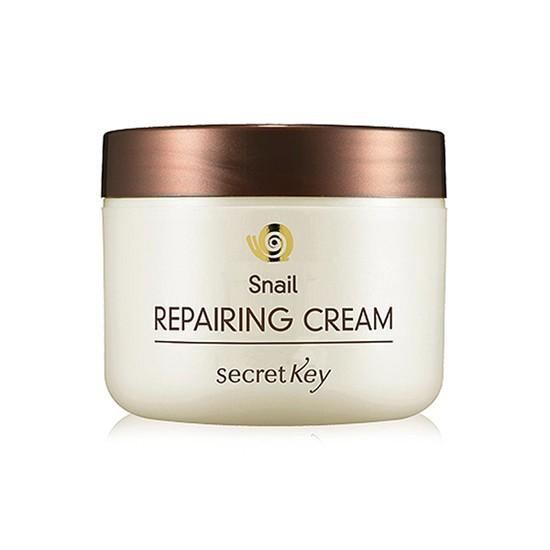 Kem Dưỡng Làm Sáng, Săn Chắc Và Hồi Phục Da Chiết Xuất Ốc Sên Secret Key Snail Repairing Cream 50ml