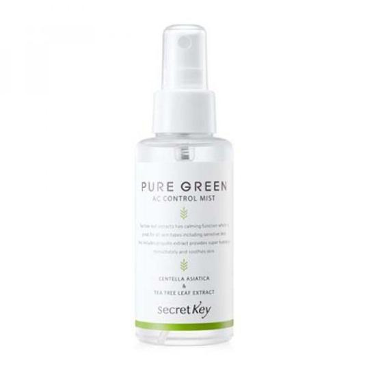 [BIG SALES] Xịt Khoáng Giữ Ẩm Cả Ngày Dài Secret Key Pure Green AC Control Mist 100ml