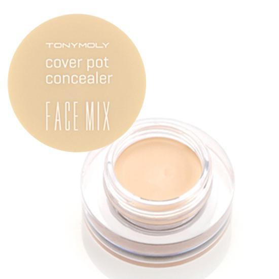 Che Khuyết Điểm Mặt và Quầng Mắt Tonymoly Facemix Cover Pot Concealer
