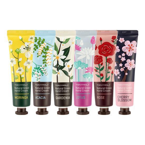 Kem Dưỡng Tay Tonymoly Natural Green Hand Cream 30ml