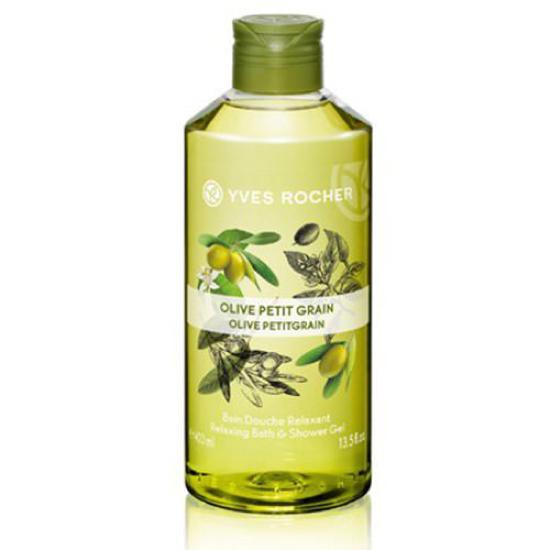 Sữa Tắm Dưỡng Thể Chiết Xuất Olive Yves Rocher Olive Petit Grain Relaxing Bath & Shower Gel 400ml