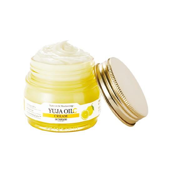 [BIG SALE] Kem Dưỡng Ẩm Và Làm Trắng Da Skinfood Yuja Oil C Cream 63ml