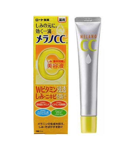 Tinh Chất Dưỡng Trắng Chống Thâm Nám Rohto Serum Vitamin C Melano CC