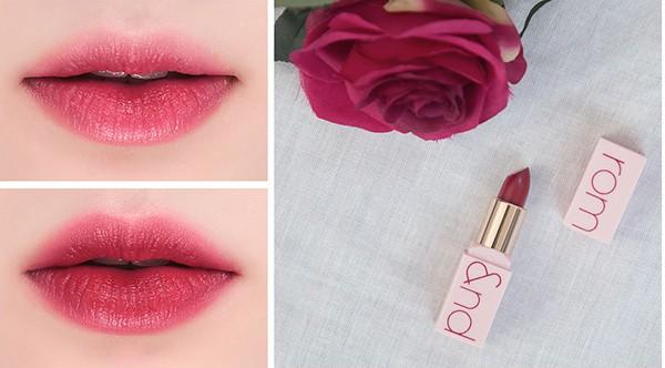 Son Thỏi Dưỡng Ẩm Cho Môi Romand Creamy Lipstick Rose Edition 3.5g #Autumn Rose
