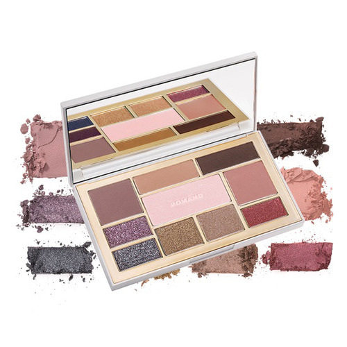 [BIG SALES] Bảng Phấn Mắt 10 Màu Romand Perfect Styling Eye Palette #Temptation Night