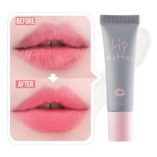 Gel Hoá Phép Son Thành Son Lì Và Khoá Màu Son Romand Lip Matter