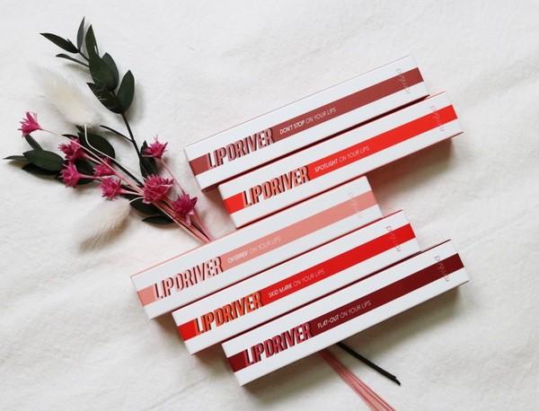 [HOT] Son Kem Lì Quyến Rũ Romand Lip Driver On Your Lips