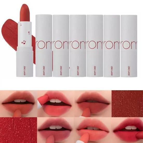 Son Thỏi Lì, Lâu Trôi, Lên Màu Chuẩn Romand Zero Layer Lipstick 3.8g