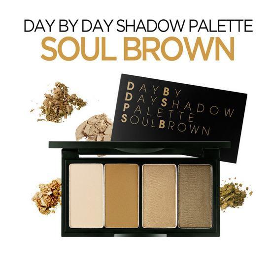 [Đồng Giá 199K] Phấn Mắt 4 màu Secret Key Day By Day Shadow Palette Soul Brown