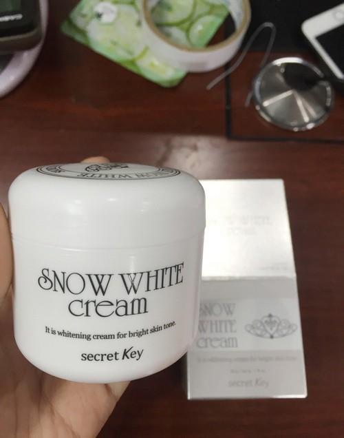 Kem Dưỡng Trắng Da Secret Key Snow White Cream 50g