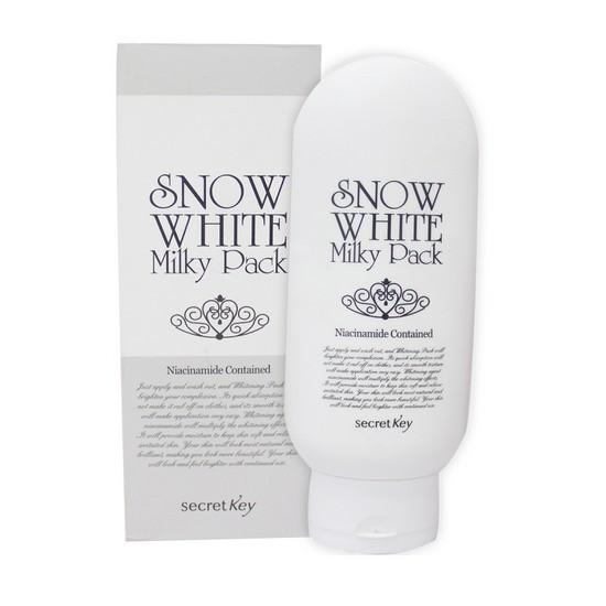 [BIG SALES] Kem Tắm Trắng Mặt Và Toàn Thân Secret Key Snow White Milky Pack 200g