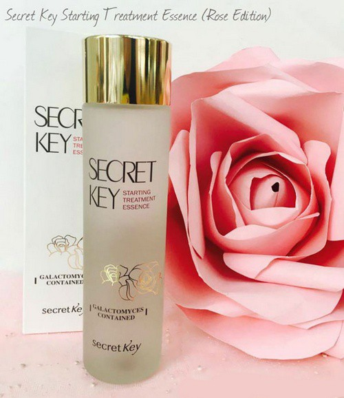 Nước Thần Dưỡng Da Secret Key Starting Treatment Essence Rose Edition 150ml