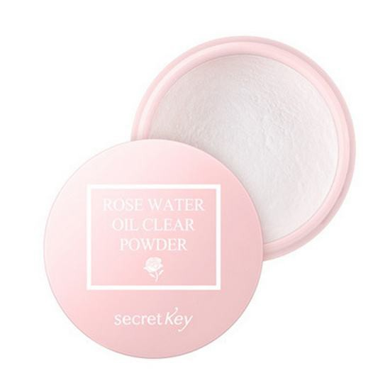 Phấn Phủ Chiết Xuất Từ Hoa Hồng Secret Key Rose Water Oil Clear Powder