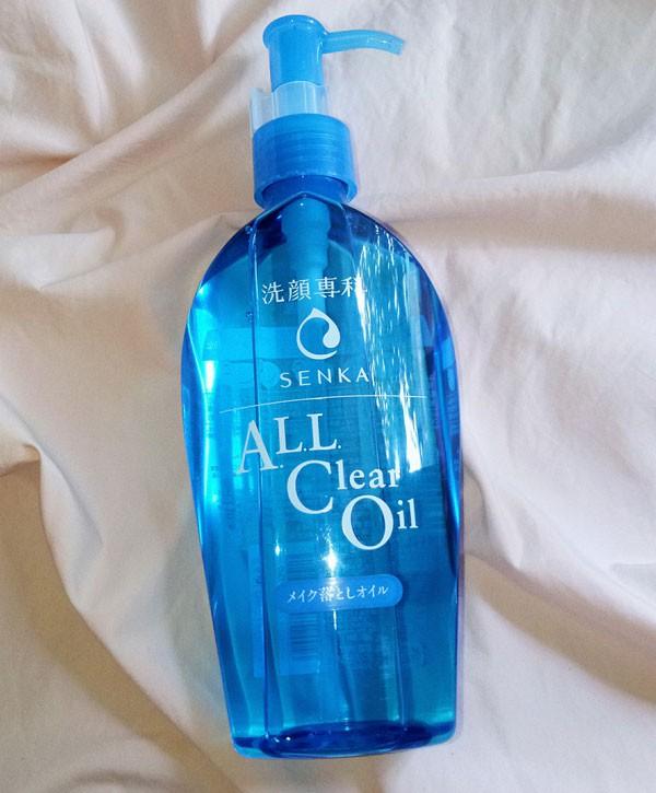Dầu Tẩy Trang Làm Sạch Sâu Senka A.L.L Clear Oil 230ml