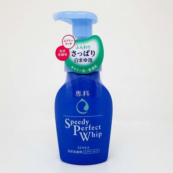 Sữa Rửa Mặt Tạo Bọt Chiết Xuất Tơ Tằm Nhật Bản Senka Speedy Perfect Whip