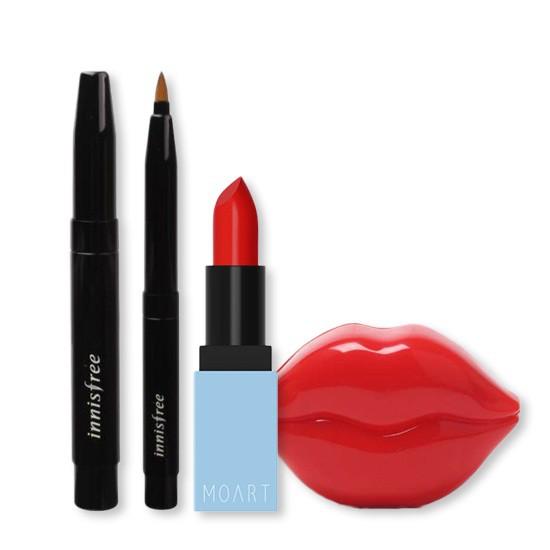 Set Trang Điểm Môi Chuyên Nghiệp Love Your Lip (3 Sản Phẩm)
