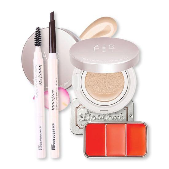 Bộ Trang Điểm Dịu Dàng Nơi Công Sở Make Up Set (3 Sản Phẩm)