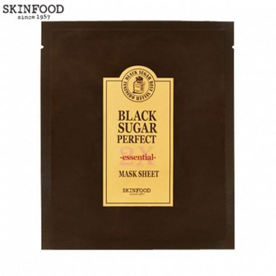 Mặt Nạ Làm Sạch Da Skinfood Black Sugar Perfect First Serum 2X – Essentail Mask Sheet