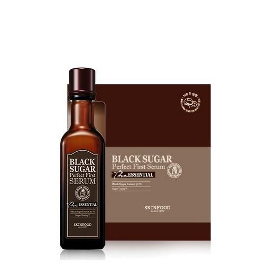 Tinh Chất Dưỡng Da Chiết Xuất Đường Đen Skinfood Black Sugar Perfect Serum The Essential 120ml