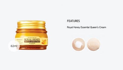 Kem Dưỡng Ẩm Chiết Xuất Mật Ong Skinfood Royal Honey Essential Queen's Cream