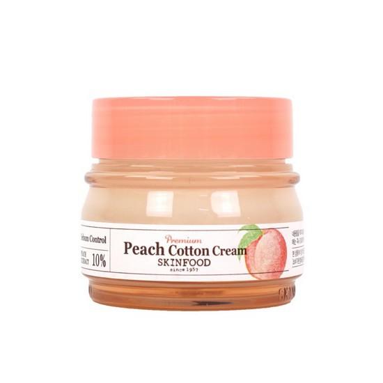 Kem Dưỡng Kiềm Dầu Và Se Khít Lỗ Chân Lông Skinfood Premium Peach Cotton Cream 63ml