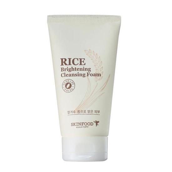 Sữa Rửa Mặt Chiết Xuất Gạo Skinfood Rice Brightening Cleansing Foam 150ml