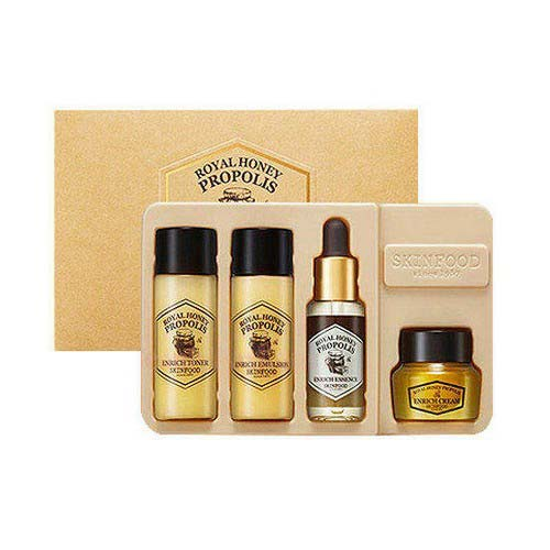 Bộ Dùng Thử Dưỡng Ẩm Chiết Xuất Sáp Ong Skinfood Royal Honey Propolis Enrich Special Kit