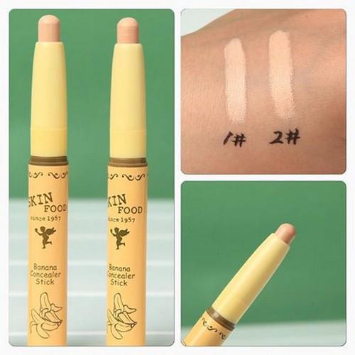 Che Khuyết Điểm Dạng Thỏi SkinFood Banana Concealer Stick