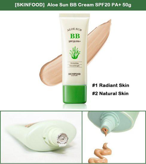 [ BIG DEALS] Kem BB Cream Chiết Xuất Lô Hội Skinfood Aloe Sun BB Cream SPF20 PA+