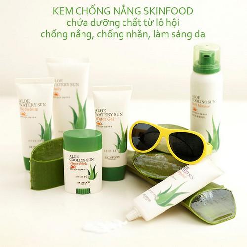 Kem Chống Nắng Hằng Ngày Skinfood Aloe Watery Sun Daily SPF50+ Pa+++ 100ml