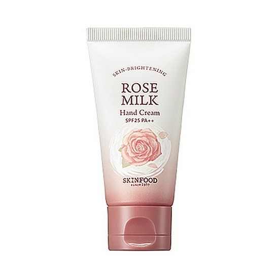 Kem Dưỡng Da Tay Skinfood Rose Milk Hand Cream SPF25 PA ++ 50ml
