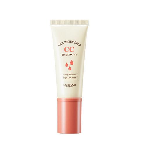 Kem Nền Dưỡng Ẩm 3 Chức Năng Skinfood Vita Water Drop CC Cream SPF 35+ PA+++