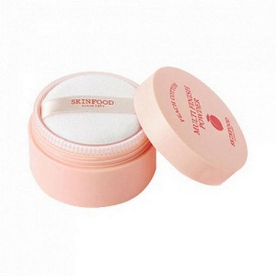 Phấn Phủ Bột Kiềm Dầu Skinfood Peach Cotton Multi Finish Powder 5g