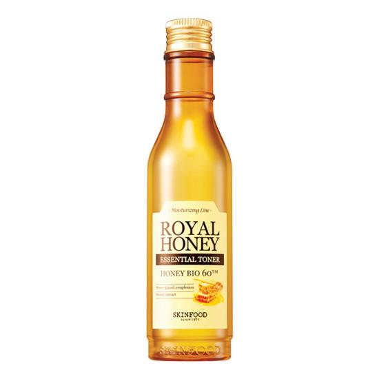 Nước Hoa Hồng Giảm Thâm Và Phục Hồi Da Hư Tổn Skinfood Royal Honey Essential Toner 180ml