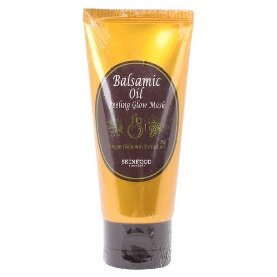 Mặt Nạ Lột Tẩy Da Chết Dạng Lột Skinfood Balsamic Oil Peeling Glow Mask 100ml