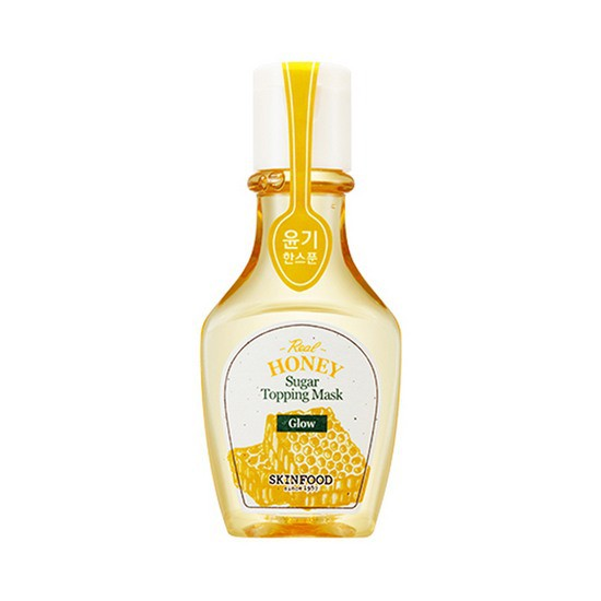 [BIG SALES] Mặt Nạ Chiết Xuất Mật Ong Cải Thiện Tông Da Trắng Sáng Skinfood Sugar Topping Mask Real Honey