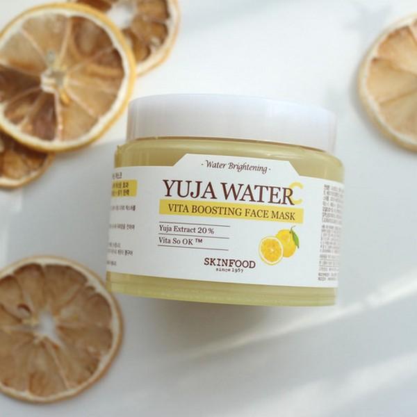 [BIG SALES] Mặt Nạ Thải Độc Cho Da SkinFood Yuja Water C Vita Boosting Face Mask