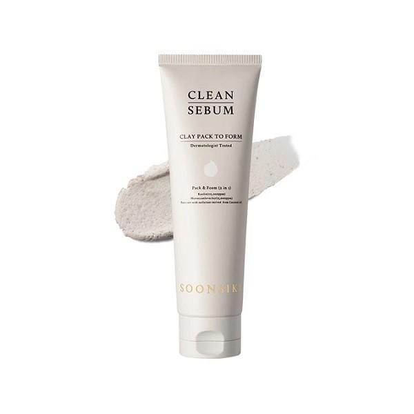 Sữa Rửa Mặt Soonsiki Clean Sebum Clay Pack To Form 120ml