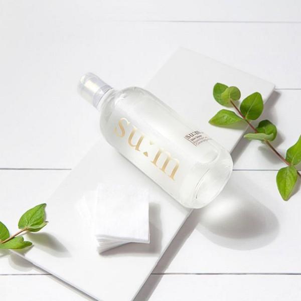 Nước Tẩy Trang Lên Men Tự Nhiên Su:m37 Skin Saver Essential Cleansing Water (Tặng bông tẩy trang)