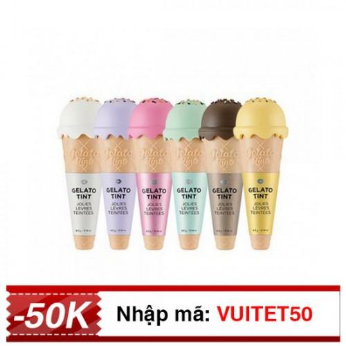 [HOT] Son Kem Ốc Quế The Face Shop Gelato Tint 4.2g