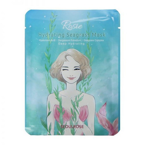 Mặt Nạ Dưỡng Ẩm Seoul Rose Rosie Hydrating Seagrass Mask