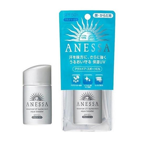 Kem Chống Nắng Dưỡng Ẩm Cho Da  Anessa Essence Uv Sunscreen Aqua Booster Spf 50+ Pa++++ (Màu Bạc) 60ml